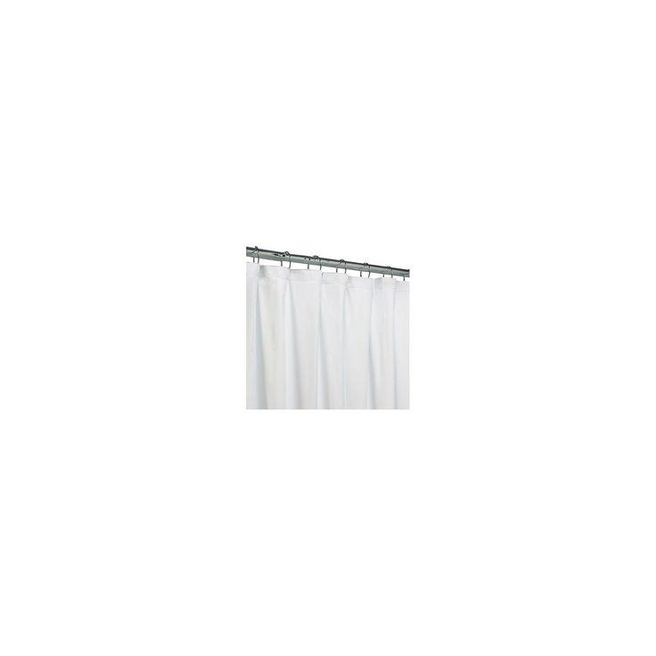 White Peva Heavyweight Shower Liner 71x70 White - Threshold