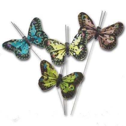 Fjärilar med metalltråd