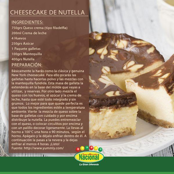 Cheesecake nacional.