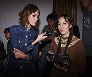 Today's headline: Alexa Chung shows off her karaoke chops in a new video shot by Gia Coppola for MyTheresa.com's TUNES series; Benedict Cumberbatch and Sophie Hunter are expecting; Schiaparelli is moving forward and more.