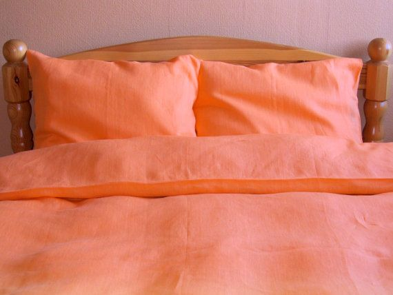 Natural Linen Bedding Set 4 pcs QUEEN SIZE by NaturalHomeTreasures, $410.00