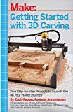 Getting Started with 3D Carving: Five Step-by-Step Projects to Launch You on Your Maker Journey by Zach Kaplan (Author) #Kindle US #NewRelease #Engineering #Transportation #eBook #ad
