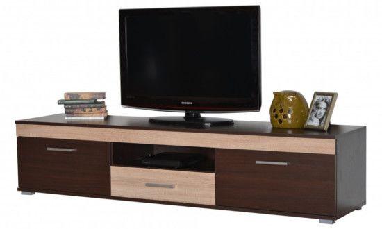 Έπιπλο TV TVP 3K2V1F COMPOSITIO  Έπιπλο TV για όλους τους χώρους και όλα τα γούστα Διατίθεται σε 4 χρωματισμούς: Wenge/Sonoma, Wenge/Λευκό, Sonoma/Latte, Sonoma/Λευκό Διαστάσεις: 173x40x38,5 cm Σε περίπτωση διαθέσιμου στοκ η παράδοση είναι άμεση. Ενημερωθείτε για την διαθεσιμότητα των προϊόντων.