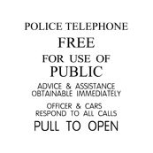 Police Telephone by cola82