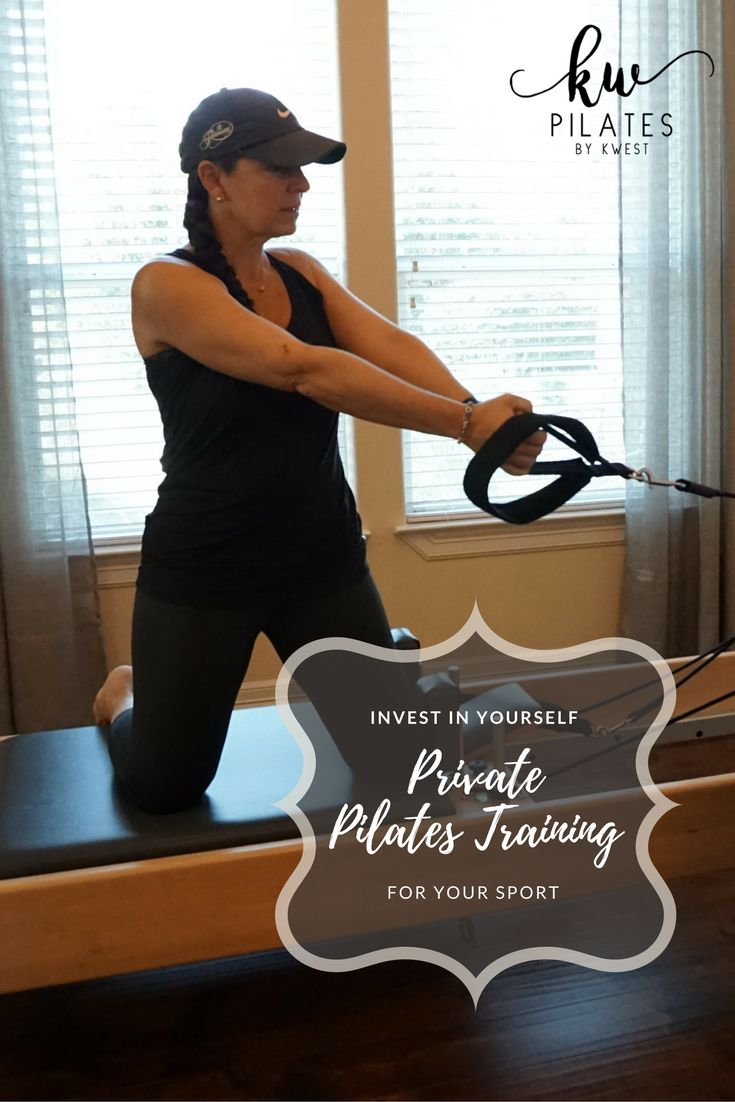 Private Pilates training for your sport, as outlined on our Forum on our website. Self-care is not selfish. Invest in yourself!