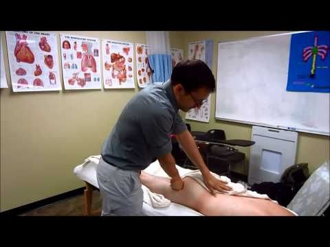 ▶ Massage Tutorial: Myofascial Release for Sciatica, hip pain, shooting leg pain/numbness - YouTube