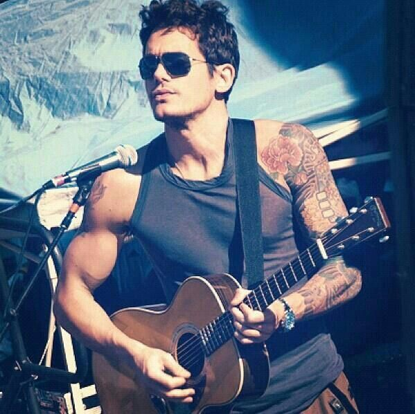 John Mayer sings to my soul.....that means he is my soulmate.