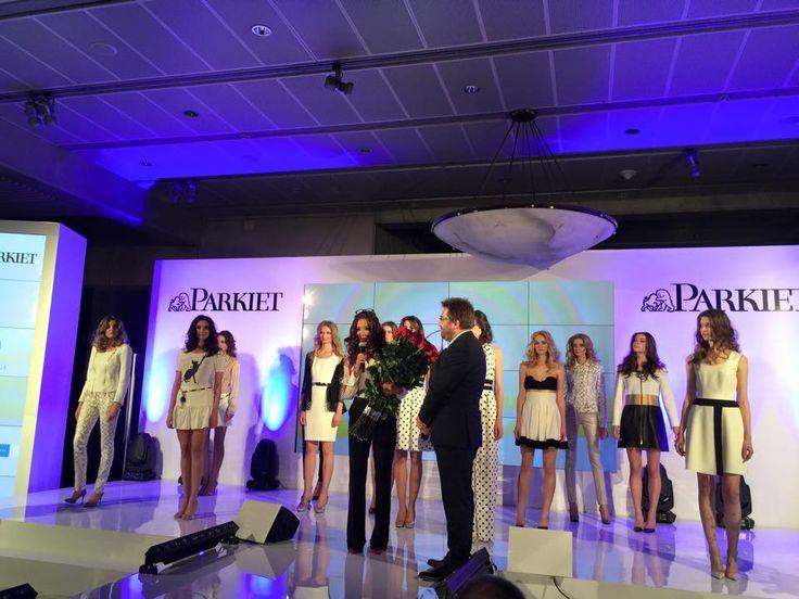 Eva Minge fashion show