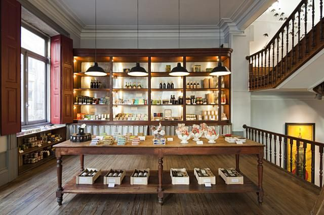 A Vida Portuguesa Shops in Porto and Lisbon.Beautiful traditional products fabricated in Portugal. (ceramics, linens, soaps, bags books...)