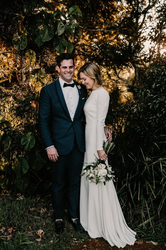 Sophisticated + rustic wedding at Byron Bay  | Image by Zoe Morley
