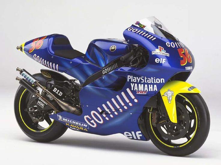 Yamaha YZR500 - Gauloises Yamaha Tech 3 2003   Moto GP 500cc 2 Stroke Racing Bikes   Pinterest ...