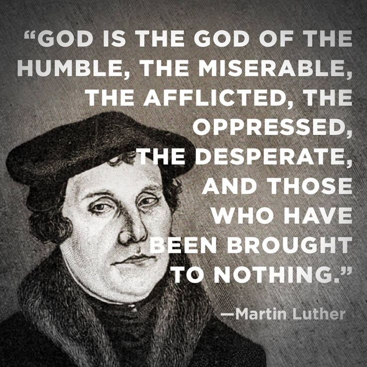 Martin luther thesis statement