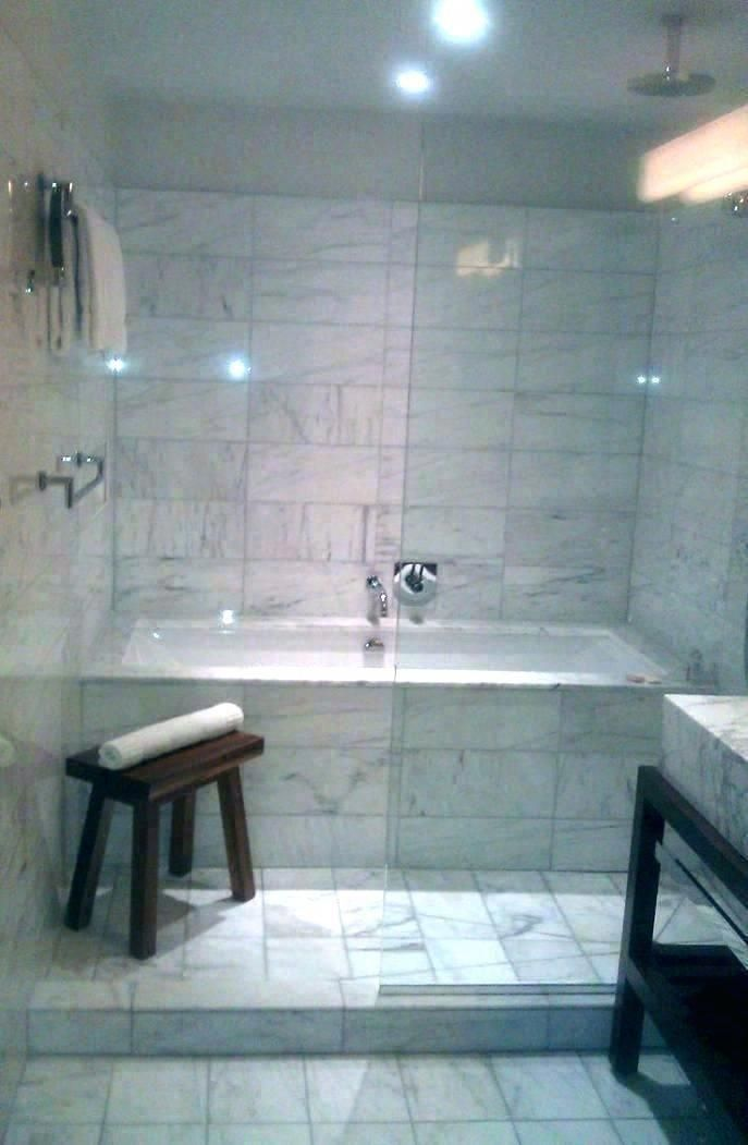 Shower Bathtub Combo Idea Enclosed Tub And Bath Design