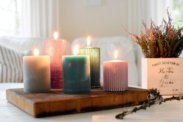 Puttipajan kotimaiset käsintehdyt kynttilät
