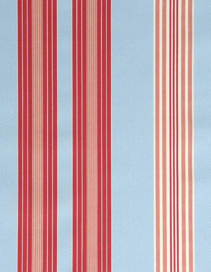 Oilcloth Lulu Stripe Powder Blue