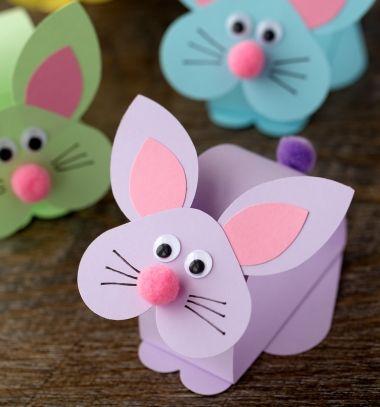 Bólogatós nyuszi papírból - húsvéti kreatív ötlet gyerekeknek / Mindy -  kreatív ötletek és dekorációk minden napra