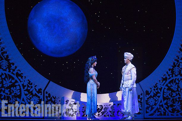 First look at 'Aladdin,' Disney's magical, Broadway-bound musical — Ahhh, so excited for this!