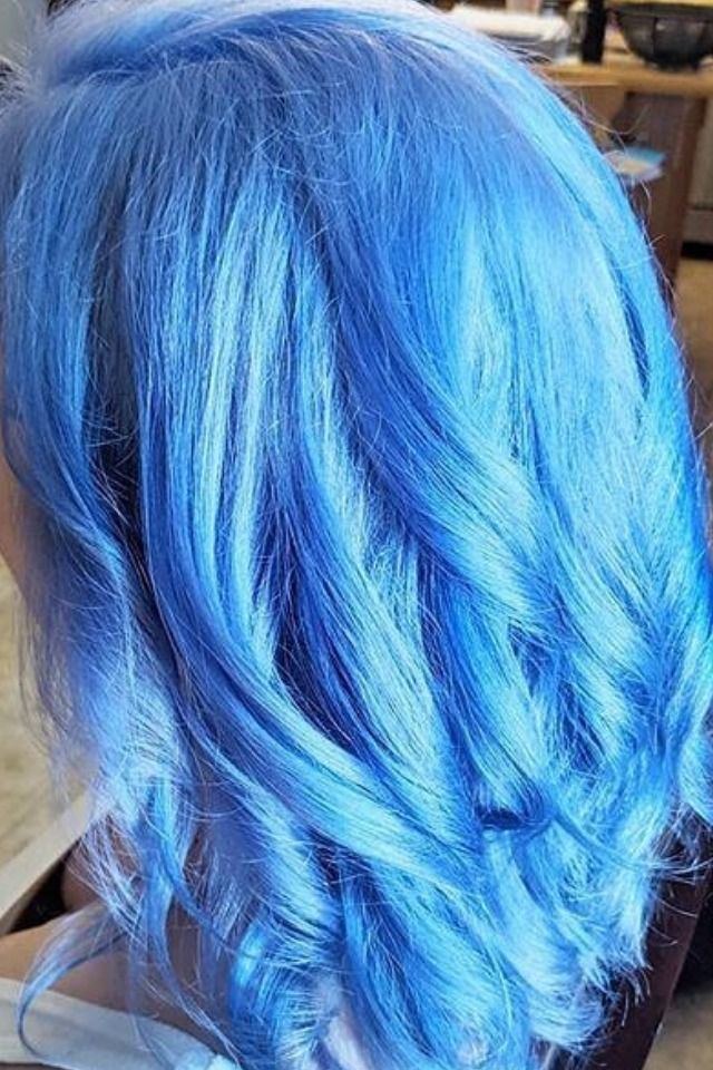 Pastel Blue Complete System Pastel Blue Hair Bright Blue Hair