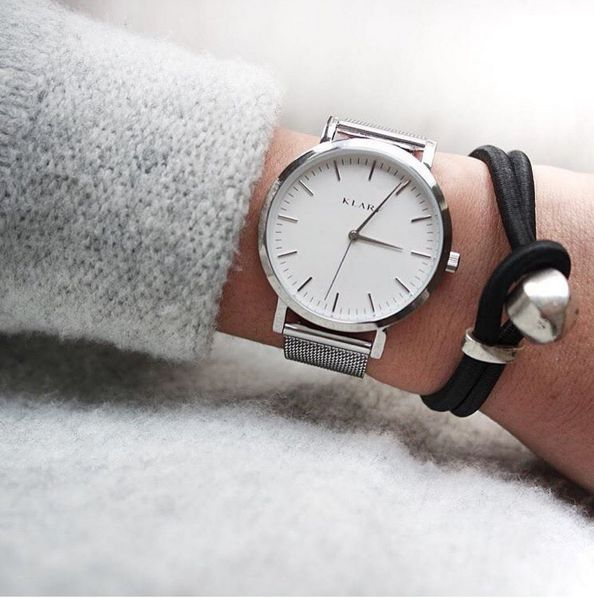 stainless watches steel minimal workchic everyday ladies chic blog women for metallic