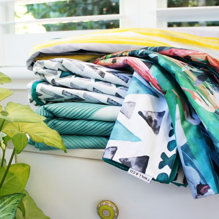 We love these rich jungle green colour combinations.