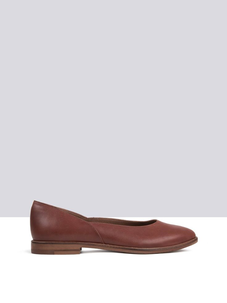 Dow Tan Leather womens-shoes small 1