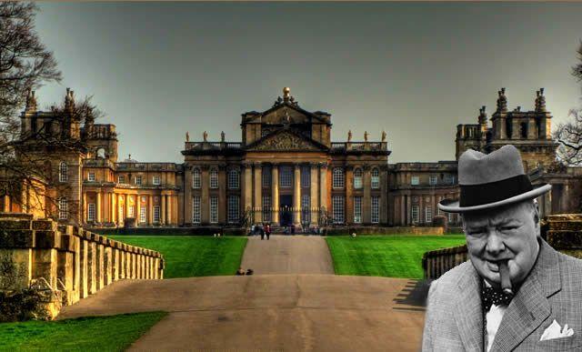 Bleinheim Palace - Oxfordshire, England - http://destinations-for-travelers.blogspot.com/2014/01/palacio-de-bleinheim-woodstock-oxfordshire-inglaterra.html #winstonchurchill #inglaterra #reinounido #palace #bleinheimpalace