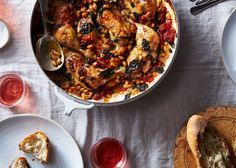 Jamie Oliver's one pot chicken in tomato and basil sauce. This post originally appeared in Genius Recipes on Food52. Jamie Oliver has been known to do otherworldly things with chicken, given a few strident ing ...