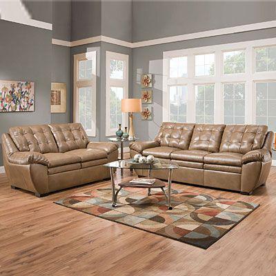 Simmons tonto taupe set at big lots love this big - Simmons living room furniture sets ...
