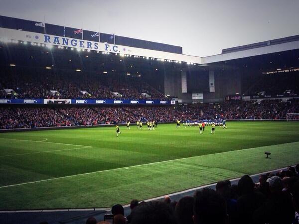 Rangers FC - Ibrox Stadium in Glasgow, Glasgow City