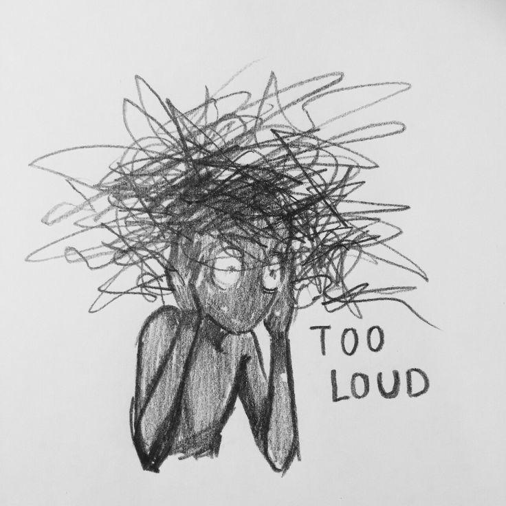 ••Too loud ••