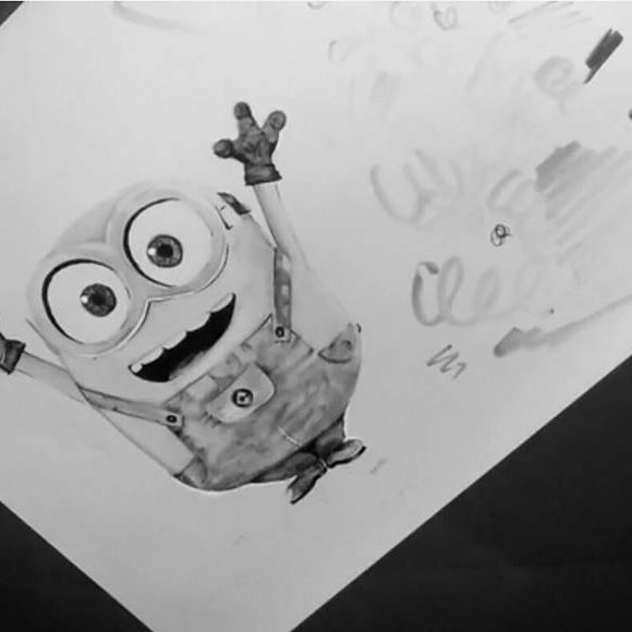 We love minion... You love minions... Just about everyone LOVES MINIONS! Ever wanted to see an artist draw one from scratch? We give you Tyler Goodwin's amazing time lapse video! Head on over to our Facebook page to watch it!!  Why don't you let this inspire you to draw your favourite (mines Bob) and post your image tagging us in it?? Simply put, the world needs more Minions #chameleonpens #timelapse #timelapsevideo #minions #dispicableme #art #illustration #draw #drawing #marker #colouring…
