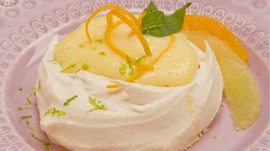 Brown Sugar Meringues with Citrus Curd - Recipes - Best Recipes Ever ...