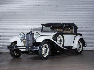Mercedes-Benz 370 S Sport Cabriolet – 1931
