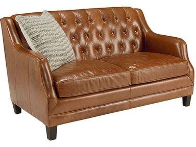 The Gentry Loveseat, Caramel Leather (SKU:55524201…