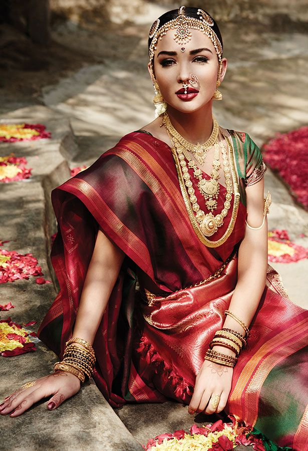 Tanishq Tamilian Bride Wedding Jewellery Collection(3)
