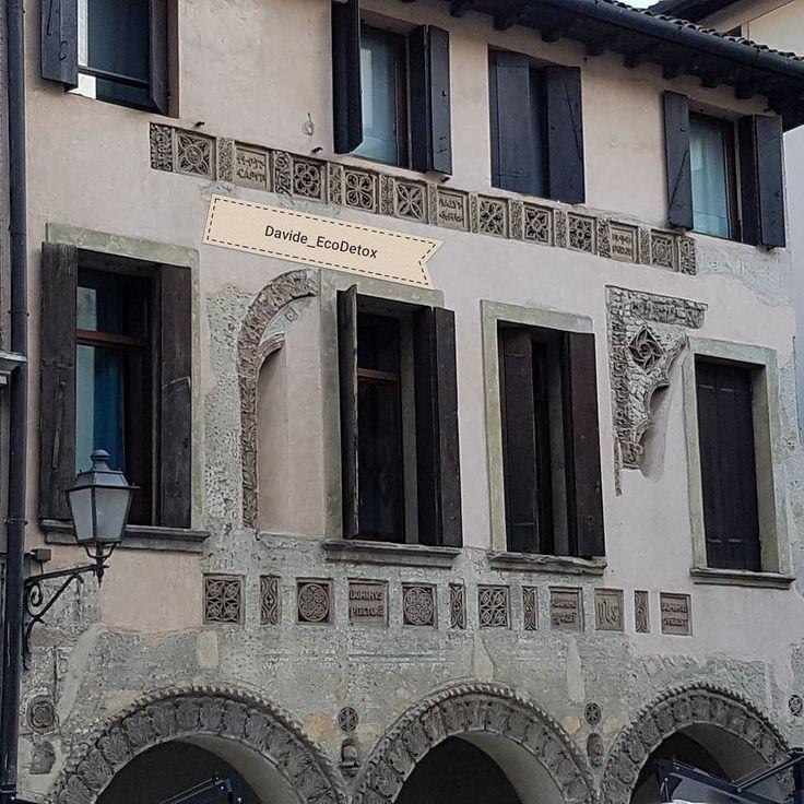 Dettagli di #Conegliano #arte #architettura #affreschi #walkingday #culturalday #crescitapersonale #walkinthecity #veneto #italia