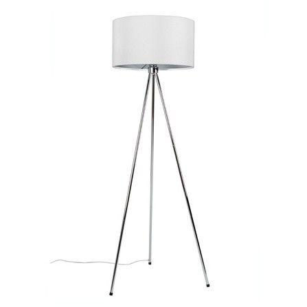 Stojací lampa New Twist, bílá
