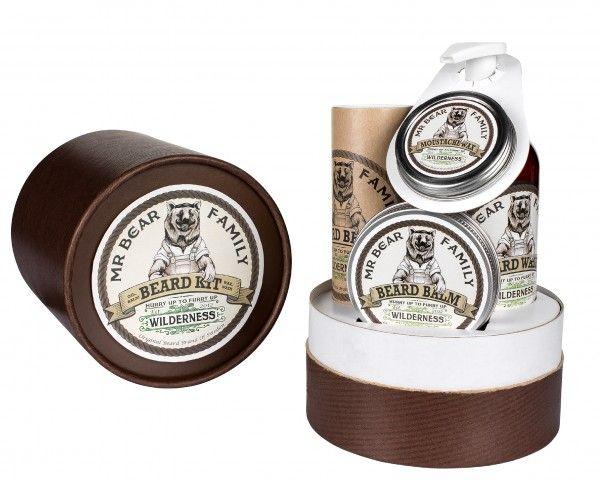 MR BEAR FAMILY Beard Kit Kit gift da barba Wilderness | OroRosso Beauty - profumi e trattamenti delle migliori marche in vendita online