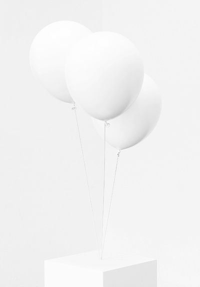 White on white balloons • berrytokyo Japan mo ghra mo chroi