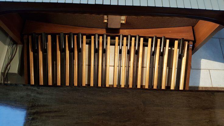 32 note AGO pedalboard for Baldwin C630t Organ