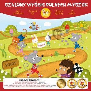 Szalony wyścig polnych myszek [gra dla dzieci]