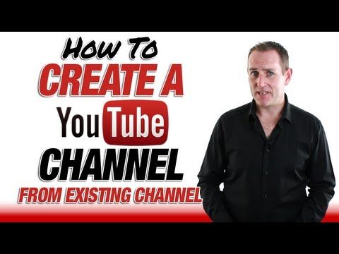 Creating a you tube channel