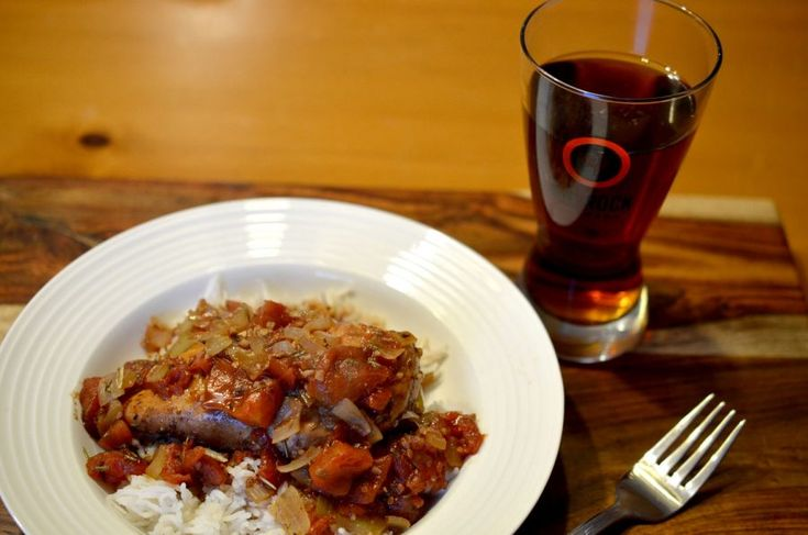 [ Balsamic Chicken Recipe ] A great dish for a winters evening with tomatoes, balsamic and beer! #cookingwithbeer #weeknight #dinner #easymeal