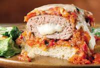 Η αίσθηση της γεύσης: Γεμιστά μπιφτέκια γαλοπούλας με σάλτσα μαρινάρα!