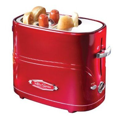 This is super cool!  A quick way to cook a yummy hot dog without microwaving it!