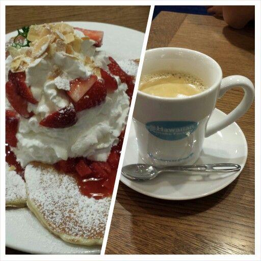 ストロベリー&ホイップパンケーキ