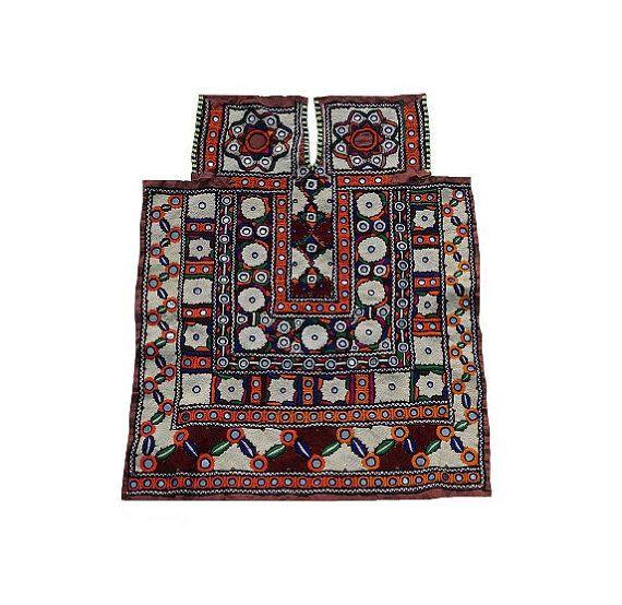 Vintage Banjara Dress Part Hand Embroidered Gypsy by MyCraftPalace