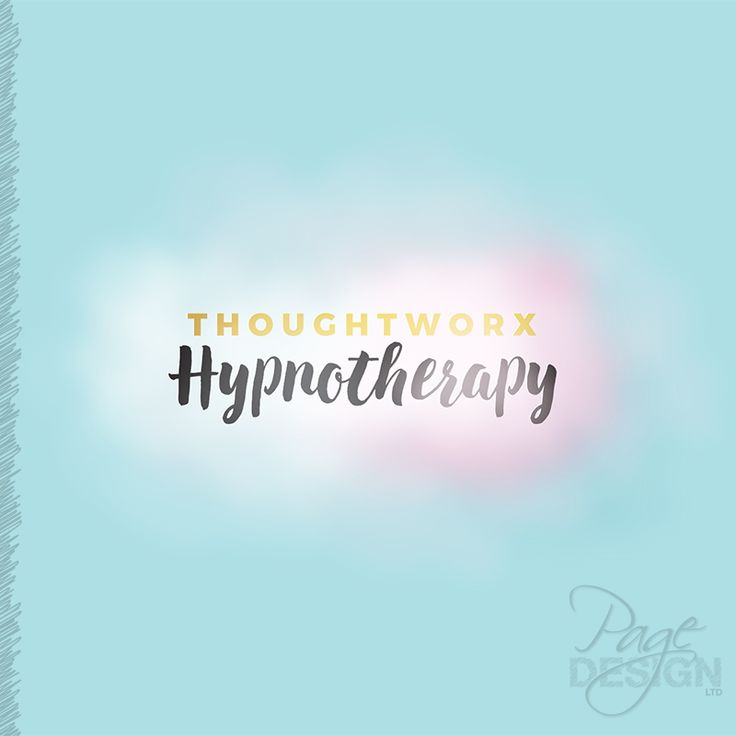 Logo design for Thoughtworx Hypnotherapy, Rotorua, New Zealand