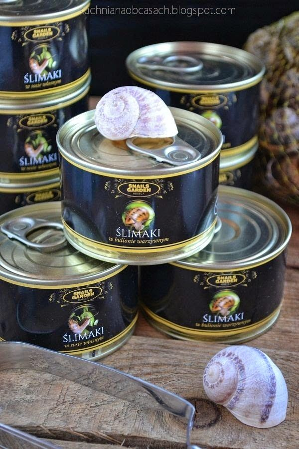 kuchnia na obcasach: Snails Garden Horeca - bogactwo polskich ślimaków