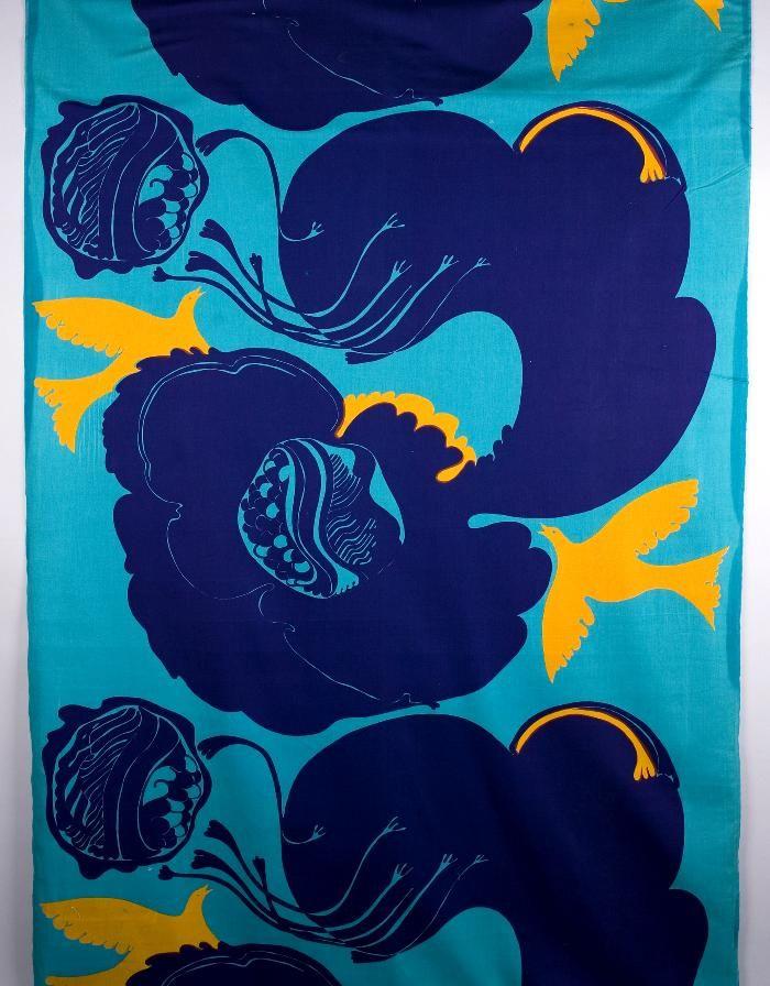 POMPEA av Sven Fristedt, 1967 Borås Cotton Studio